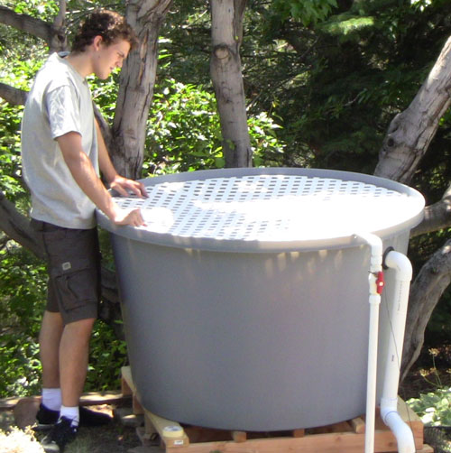 Bountiful 8 bed aquaponics system the aquaponic source for 200 gallon fish tank dimensions